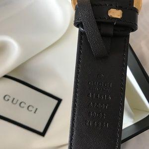 Gucci Accessories - Dark Brown Gucci Belt Size 80/32 , Mens belt
